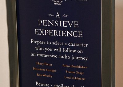 "Audible Celebrates 20 Years of Harry Potter Magic With ""A Harry Potter Pensieve Experience"" At New York Comic Con 2018"